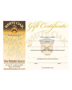 White Oak Armament Gift Certificate